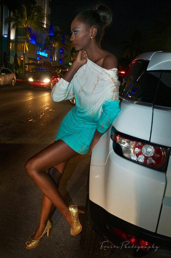 Miami Beach Night Street Fashion
