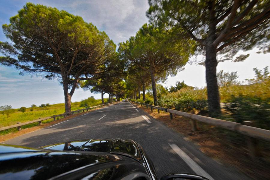Côte d'Azur roads