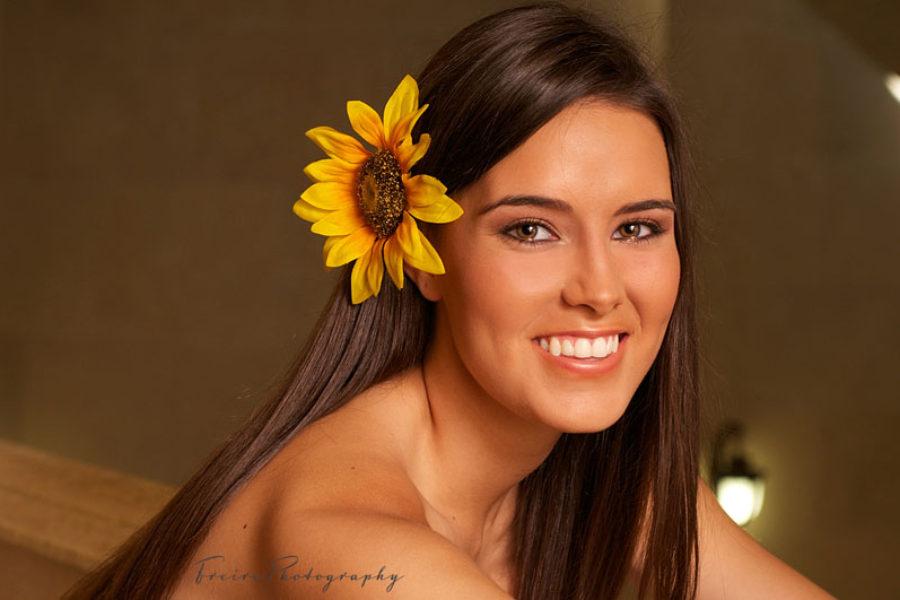 Senior portrait for Daniele