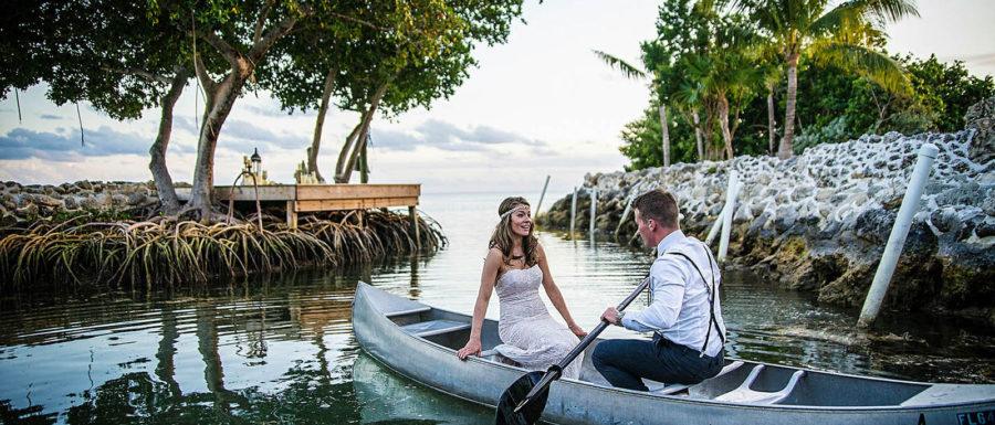 Romantic wedding in Miami