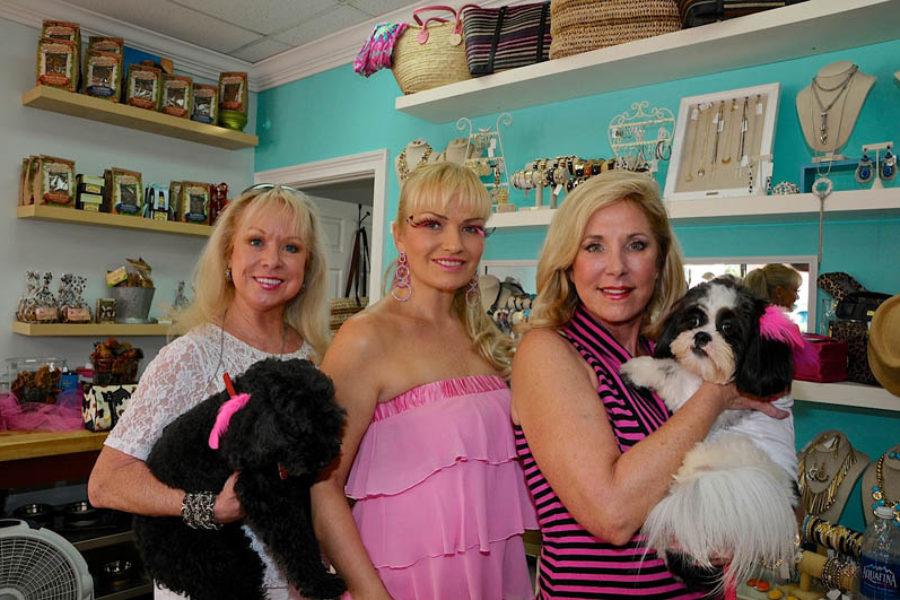 paws & stilettos event in salon bark