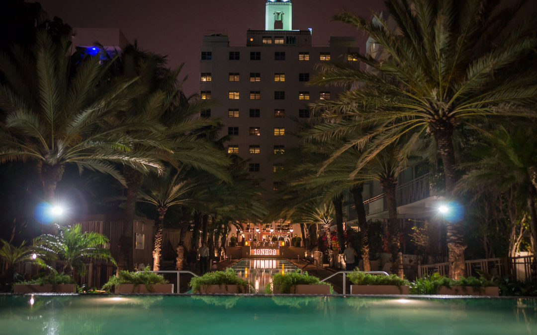 Full Moon Party at the National Hotel Miami Beach